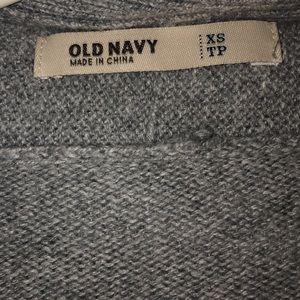 Grey long sleeve cardigan!